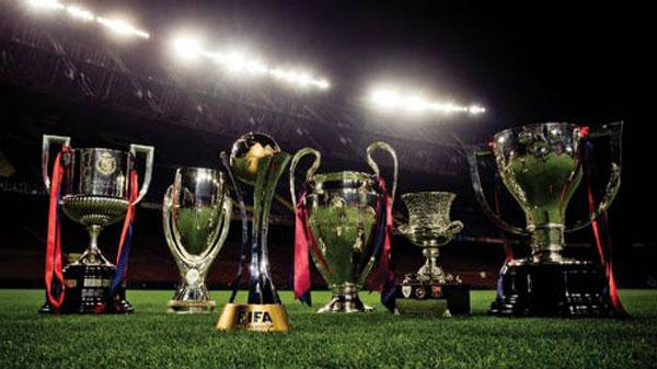 Những danh hiệu mà Barca đạt được là vô kể