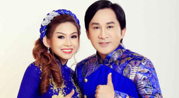 Bình Tinh và cha nuôi Kim Tử Long