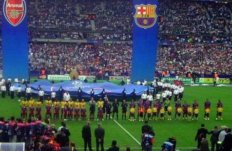 Trận chung kết Champions League năm 2006 với FC Barcelona, giúp Arsenal trở thành đội bóng London đầu tiên lọt vào một trận chung kết cúp C1