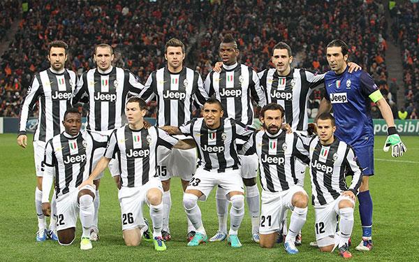Đội hình của Juve mùa giải 2012-13