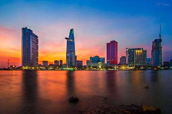 Hoàng Hôn ở Sài Gòn