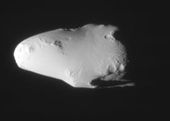Ảnh của Calypso từ tàu vũ trụ không người lái Cassini