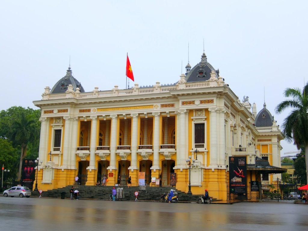 Kiến trúc Việt Nam - Nhà hát lớn Hà Nội