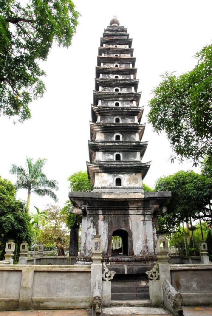 Kiến trúc Việt Nam - Tháp Phổ Minh mang đậm phong cách kiến trúc thời Trần