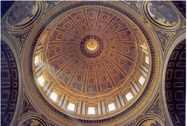 Kiến trúc Vòm cong với đặc trưng vòm cong trong thiết kế