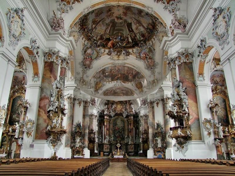 Kiến trúc Rococo sang trọng mà đầy tinh tế