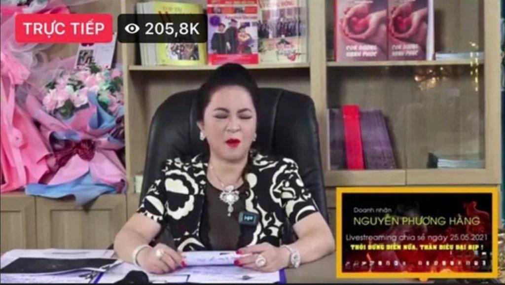 nguyen phuong hang livestream ky luc facebook